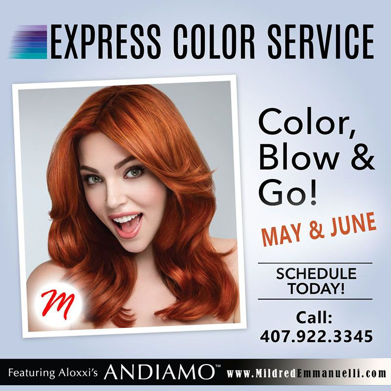 Hair Color Express May And June Specials Mildred Emmanuelli