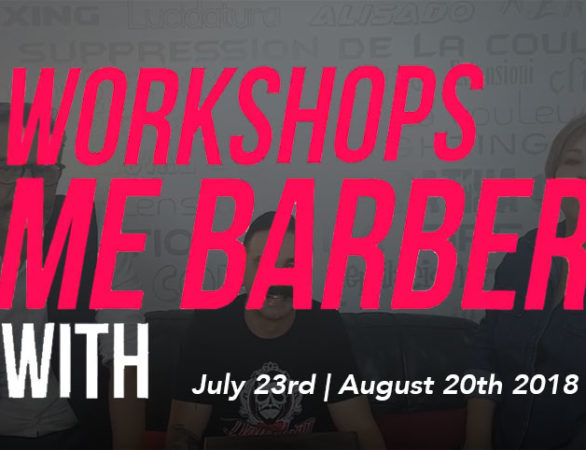 Mildred Emmanuelli Jimmy Negron Workshop ME Barbers Hairstylist