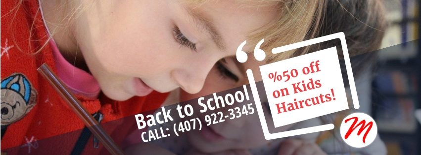 Back To School 50% Off Haircuts